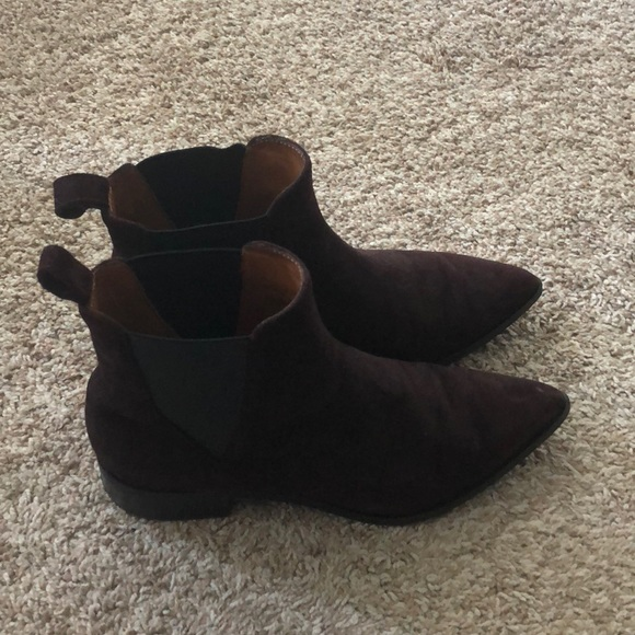 Stories Suede Ankle Boots   Poshmark